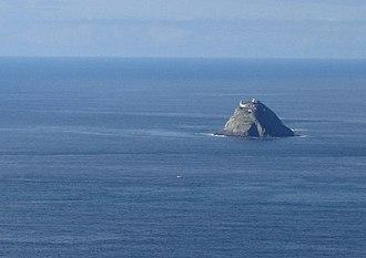 Donn - Bull Rock, off the southwest coast of Ireland, is often identified with Teach Duinn (the House of Donn)