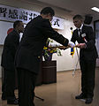 Okinawa prefectural police, Marine investigators express appreciation for keeping Okinawa safe 150220-M-DM081-001.jpg