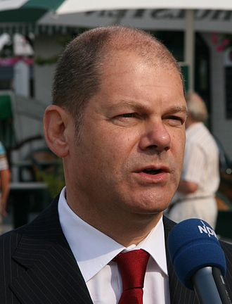 Government of Hamburg - Olaf Scholz in 2009