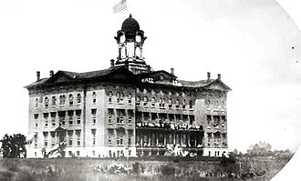 Illinois State University - Old Main, c. 1860