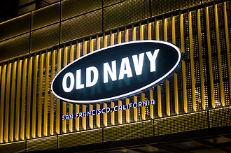 Old Navy - The Old Navy flagship store in the Philippines was opened on March 22, 2014, located at Bonifacio Global City.