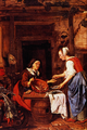 Old Woman Selling Fish - Gabriel Metsu.png