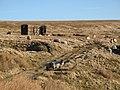 Old railway goods van below Windy Hill - geograph.org.uk - 685586.jpg