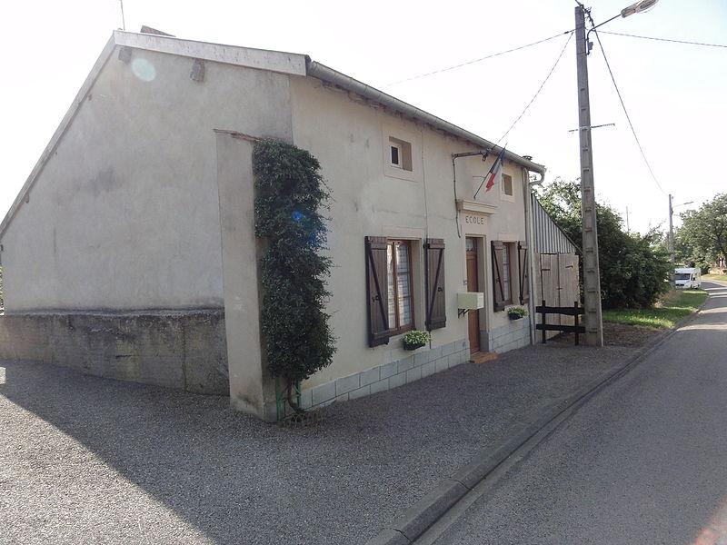 Ollières (Spincourt, Meuse) école