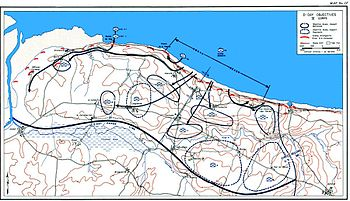 Omaha Beach Map Omaha Beach   Wikipedia