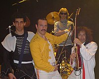One & Dr. Queen band.JPG
