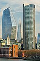 One Blackfriars, The Shard and South Bank Tower - from Waterloo Bridge - 2019-01-04 - Afternoon.jpg