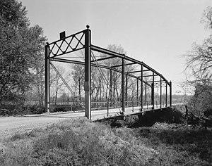 Onion Creek Bridge (Coffeyville, Kansas) - Image: Onion Creek Bridge