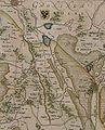 Oostermoer op kaart van Drenthe door Cornelis Pijnacker.jpg