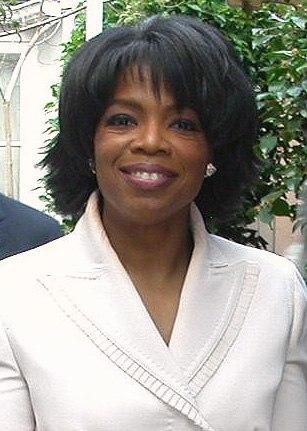 Oprah closeup