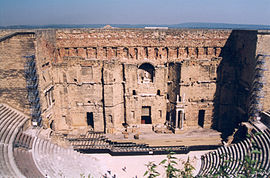 Roman amphitheatre in Orange