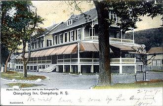 Orangeburg, New York - The Orangeburg Inn as seen in 1907