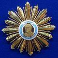 Order of the Liberator General San Martin grand cross star 2nd model (Argentina) - Tallinn Museum of Orders.jpg