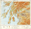 Ordnance Survey Quarter-inch sheet 6 Firth of Clyde, published 1965.jpg