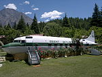 Orient airways aircraft crashed on 13th October 1950 is now a cofee shop..jpg
