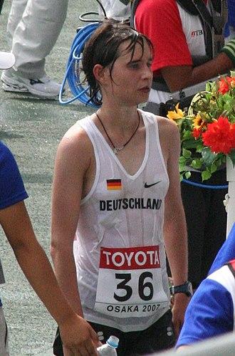 Melanie Kraus - Melanie Kraus at the 2007 World Championships in Ōsaka