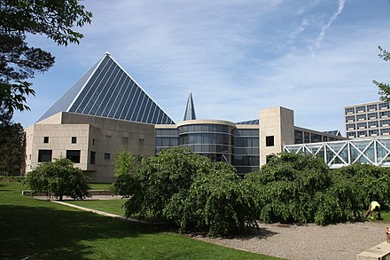 The John G. Diefenbaker Building was Ottawa's fourth city hall. Opened in 1958, it was the seat of local government until the City Council moved to its present location in 2001. Ottawa, Canada (19923366799).jpg
