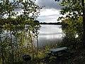 Otter Lake - Elcho, Wisconsin picnic table.jpg