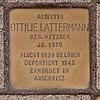 Stolpersteine vor der Hamburgischen Staatsoper