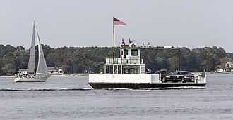 Tred Avon River - Oxford-Bellevue Ferry