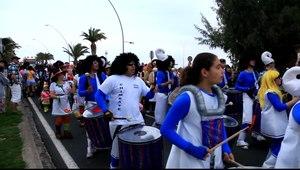 File:Pájara - Morro Jable - Avenida Saladar - Carnival (1) 09.ogv