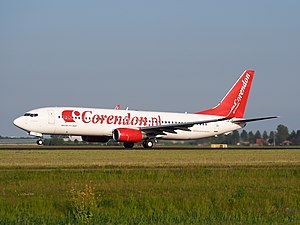 Corendon Dutch Airlines - A Boeing 737-800 of Corendon Dutch Airlines at Amsterdam Airport Schiphol (May 2014)