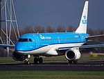 PH-EXF KLM Cityhopper Embraer ERJ-190STD (ERJ-190-100) at Schiphol (AMS - EHAM), The Netherlands pic5.JPG