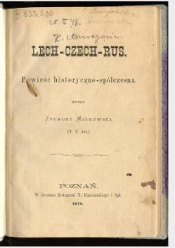 Lech Czech Rus Wikiźródła Wolna Biblioteka