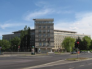 Central Statistical Office (Poland) - Main building of the Central Statistical Office, Warsaw