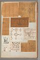 Page from a Scrapbook containing Drawings and Several Prints of Architecture, Interiors, Furniture and Other Objects MET DP372071.jpg