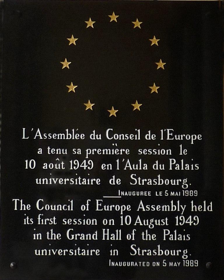 Palais Universitaire de Strasbourg-10 ao%C3%BBt 1949