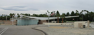 Albert Frey (architect) - The historic Tramway Gas Station serves as a visitors center