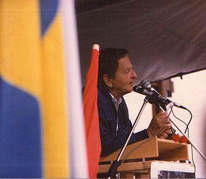 Olof Palme - Palme in Mora, 1 August 1985
