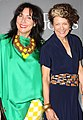 Pamela Easton & Lydia Pearson (Easton Pearson) at David Jones AW13 fashion launch 2013.jpg