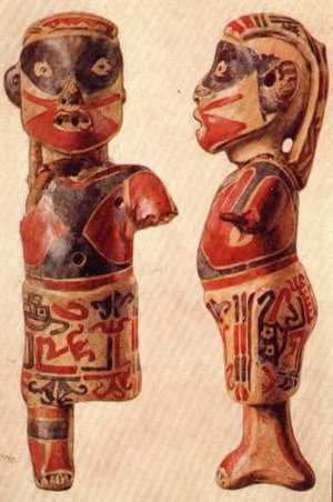 History of Panama (to 1821) - Pre-Columbian ceramic figure from Talamancan, Panama