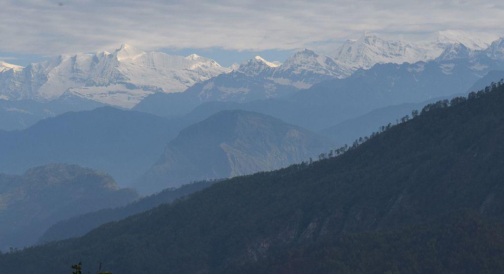 Panchchuli mountain peaks