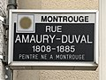 Panneau de la rue Amaury Duval à Montrouge.jpg