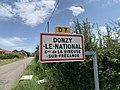 Panneau entrée Donzy National Vineuse Fregande 1.jpg