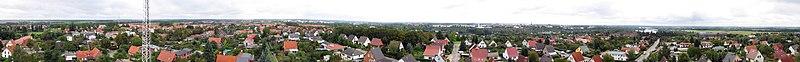 Datei:Panorama Schwerin Wasserturm Neumuehle.jpg