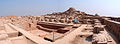 Panoramic view of the stupa mound and great bath in Mohenjodaro.JPG