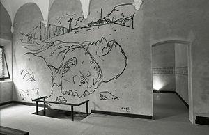 Corrado Cagli - Photo by Paolo Monti