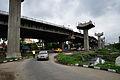 Parama-Park Circus Flyover Under Construction - John Burdon Sanderson Haldane Avenue - Kolkata 2012-07-31 0513.JPG