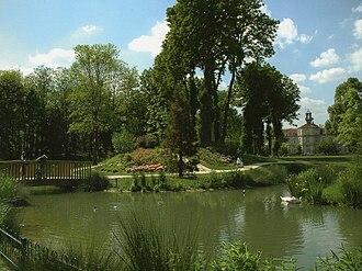 Drancy - The parc de Ladoucette.