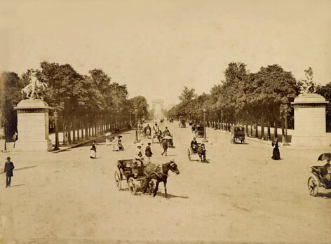 Paris.champs.elysee1890