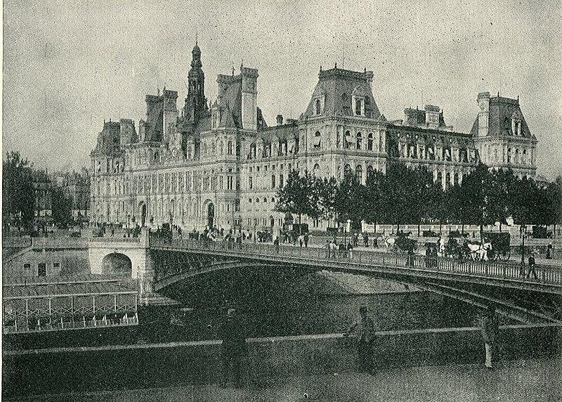 Fichier:ParisHotelDeVille1890.jpg