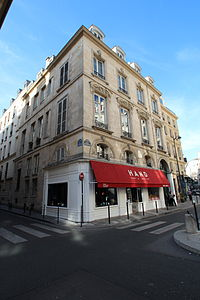 Paris 39 de Richelieu - 6-6bis rue Thérèse 2012 5.jpg