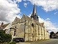 Parnes (60), église Saint-Josse, vue depuis le sud-ouest 2.jpg