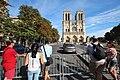 Parvis Notre-Dame fermé par la police à Paris le 14 août 2016 - 10.jpg