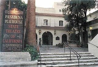 Pasadena Playhouse theater in Pasadena, California, United States