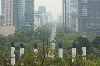 Paseo de la Reforma Mexico City avenue